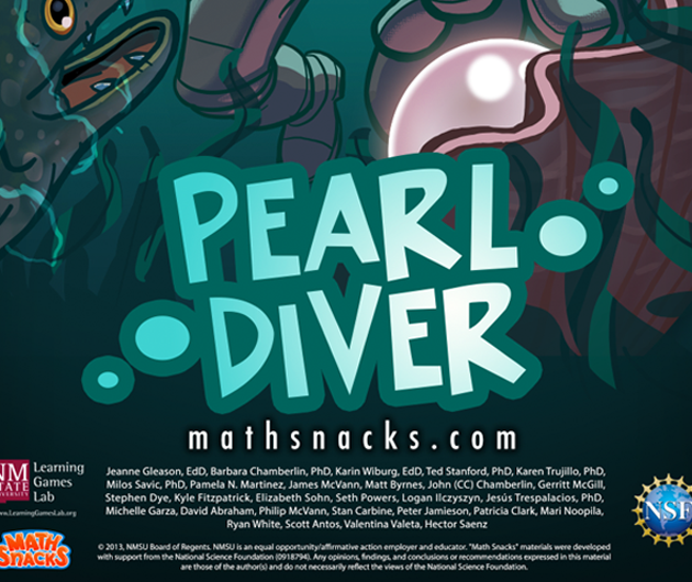 Logo for Pearl Diver